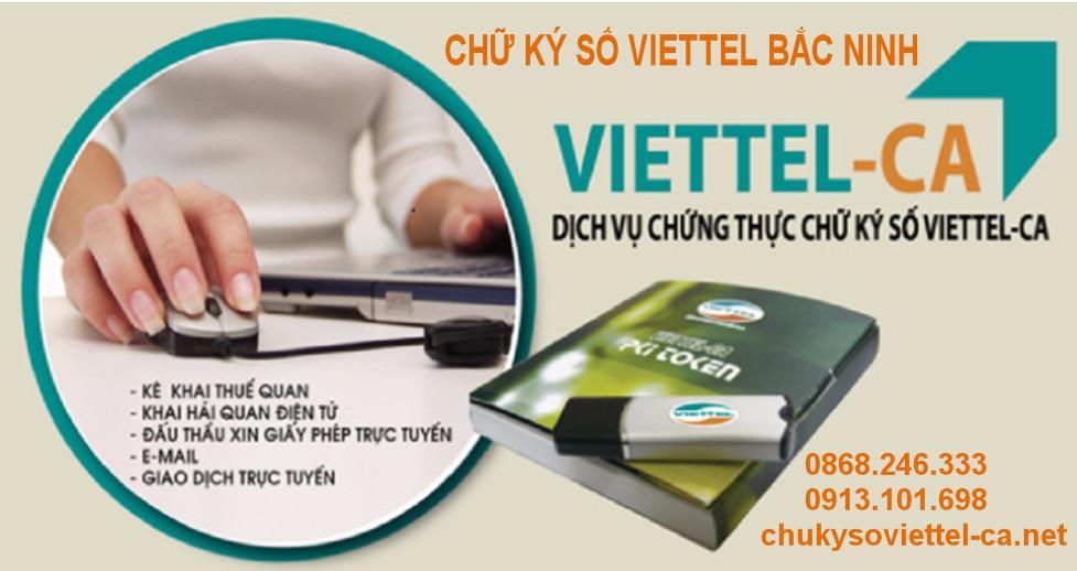 Triển khai Chữ ký số Viettel tại Bắc Ninh